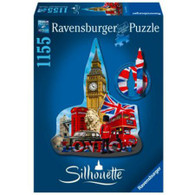Ravensburger - Silhouette Puzzle Big Ben 1155pc RB16155-3