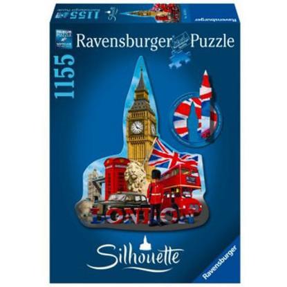 Ravensburger - Silhouette Puzzle Big Ben 1155pc RB16155-3