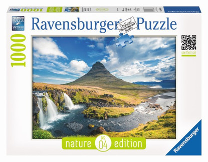 Ravensburger - River Waterfall - Visions of Kirkjufell Puzzle 1000pc Nature edition RB19539-8