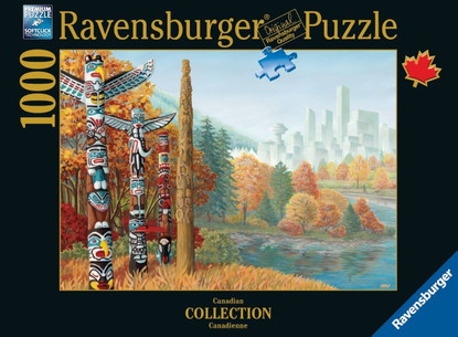 Ravensburger - When Two Worlds Collide Puzzle 1000pc RB19625-8