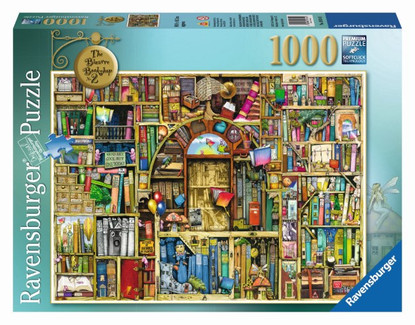 Ravensburger - The Bizarre Bookshop 2 Puzzle 1000pc RB19314-1