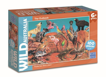 Blue Opal - Wild Aust The Outback 100pc BL01977