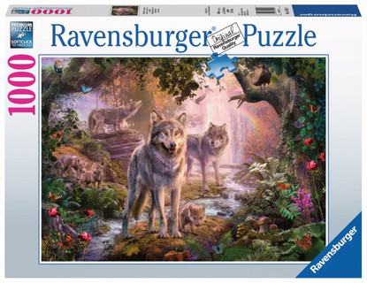 Ravensburger - Summer Wolves Puzzle 1000pc RB15185-1