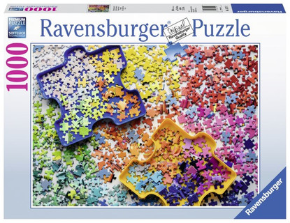 Ravensburger - The Puzzler's Palette Puzzle 1000pc RB15274-2
