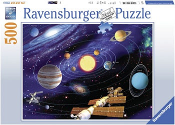 Ravensburger - Solar System Puzzle 500pc RB14775-5 box
