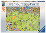 Ravensburger - At the Soccer Match Puzzle 500pc RB14786-1 box