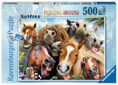 Ravensburger - Horsing Around Puzzle 500pc RB14695-6