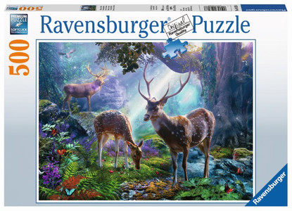 Ravensburger - Deer in the Wild Puzzle 500pc RB14828-8