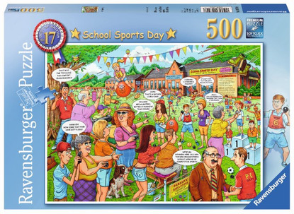 Ravensburger - School Sports Day Puzzle 500pc RB14749-6
