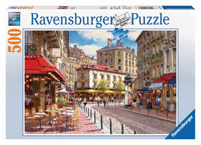 Ravensburger - Quaint Shops Puzzle 500pc RB14116-6