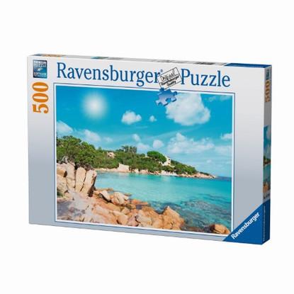 Ravensburger - Beach In Sardinia Puzzle 500pc RB14758-8