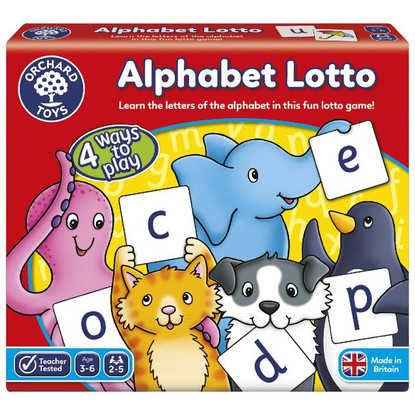 Orchard Game - Alphabet Lotto Game OC083 box