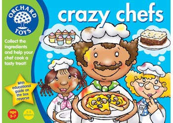 Orchard Toys - Crazy Chefs Game OC17 box