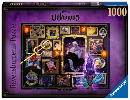 Ravensburger - Villainous: Ursula 1000pc RB15027-4