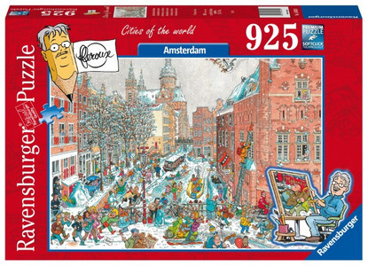 Ravensburger - Amsterdam in Winter Fleroux Cities 925pc RB16430-1