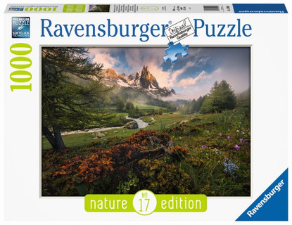 Ravensburger - Clarée Valley French Alps Nature Edition #17 1000pc