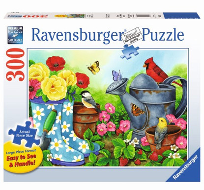 Ravensburger - Garden Traditions Large Format Puzzle 300 piece RB13223