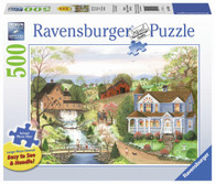 Ravensburger - The Fishing Lesson Large Format Puzzle 500 pieces