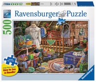 The Attic Puzzle Large Format Puzzle 500 piece RB14869-1