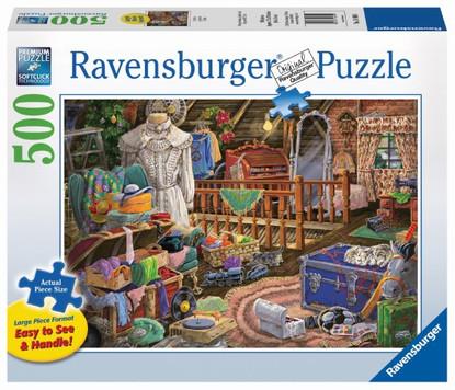The Attic Puzzle Large Format Puzzle 500 piece RB14869-1