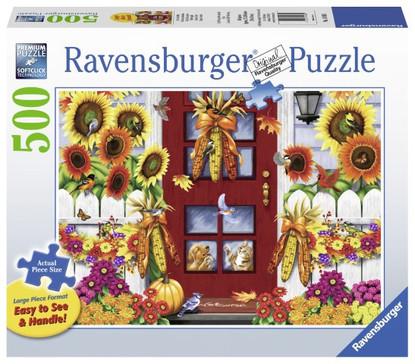 Ravensburger - Autumn Birds Large Format Puzzle 500pc RB14968-1