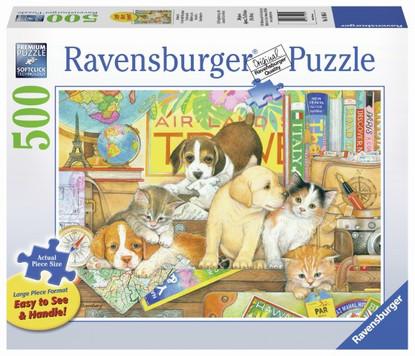 Ravensburger - Pets on Tour Large Format Puzzle 500pc RB14965-0