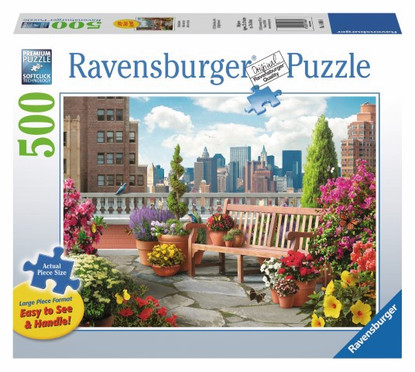Ravensburger - Rooftop Garden Large Format Puzzle 500pc RB14868-4