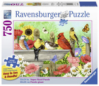 Ravensburger- Bathing Birds Large Format Puzzle 750pc RB19937-2