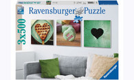 Ravensburger - Impressions of Love 3 X 500 Piece Puzzles RB19921-1