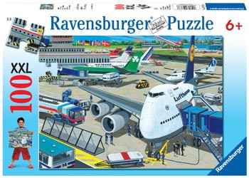 Ravensburger - Airport Puzzle 100pc RB10763-6