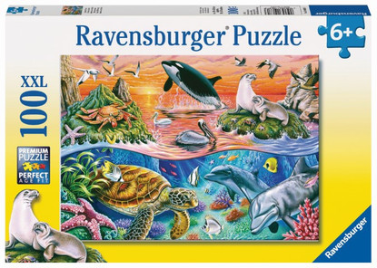 Ravensburger - Beautiful Ocean Puzzle 100pc RB10681-3
