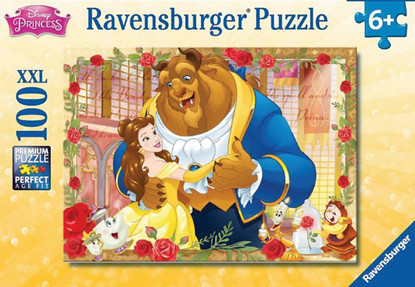 Ravensburger - Disney Belle and the Beast Puzzle 100pc RB13704-6