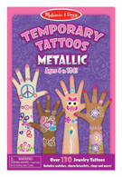Melissa & Doug - Temporary Tattoos - Metallic MND2948