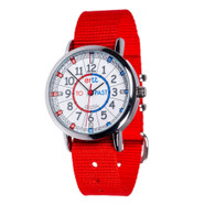 EasyRead Time Teacher Watch - Red/Blue - Past/to - Red Strap