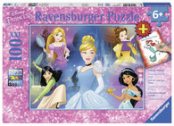Ravensburger - Disney Charming Princess Puzzle 100pc RB13699-5