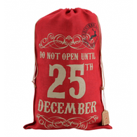 "Christmas Sack ""Do Not Open Until 25th December"""