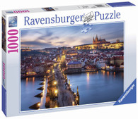 Ravensburger - Prague at Night Puzzle 1000pc - RB19740-8