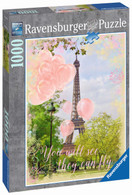 Ravensburger - Eiffel Tower Dreams Puzzle 1000pc RB19708-8