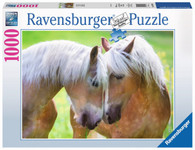 Ravensburger - Tender Moment - (Horse) A Moment Together Puzzle 1000pc