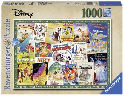 Ravensburger - Disney Vintage Movie Posters Puzzle 1000pc RB19874-0