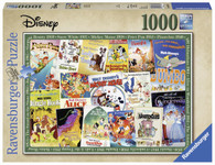 Ravensburger - Disney Vintage Movie Posters Puzzle 1000pc RB19874-0