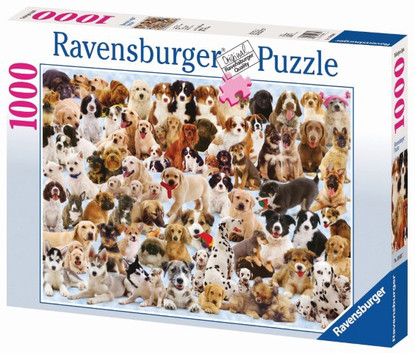 Ravensburger - Dogs Galore! Puzzle 1000pc RB15633-7