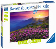Ravensburger - Early Morning Mountains Puzzle 1000pc Nature Edition No. 8 RB19608-1