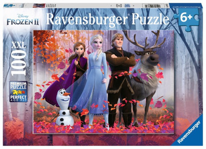 Ravensburger - Disney Frozen 2 Magic of the Forest 100pcs RB12867-9