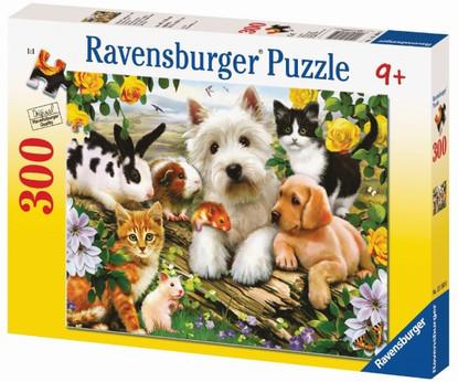 Ravensburger - Happy Animal Babies Puzzle 300pc RB13160-0