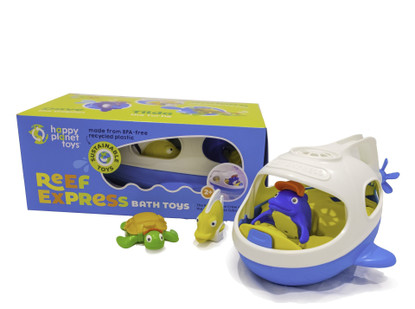 Happy planet toys Reef Express Bath Toy set boxed