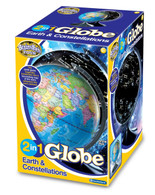 2 in 1 Globe Earth and Constellations - Brainstorm boxed
