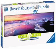 Ravensburger - Jokulsarlon, Iceland Puzzle Panorama 1000pc Nature Edition No. 9 RB15075-5