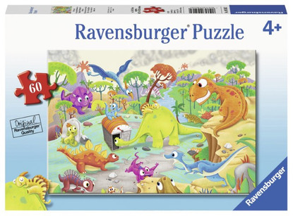Ravensburger - Time Travelling Dinos 60 piece RB09516-2