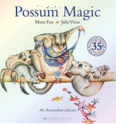 Possum Magic 35th Anniversary Edition - By Mem Fox, Julie Vivas (Illustrator)